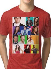 Teen Wolf Cast Boxes Tri-blend T-Shirt