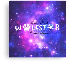 Harry Potter -- Wolfstar Canvas Print