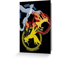 Kanto Birds x The Hunger Games (v2) Greeting Card