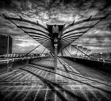 The Bells Bridge - Glasgow by Daniel Davison