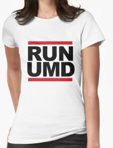 RUN UMD Womens Fitted T-Shirt