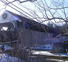 Blair Covered Bridge in Campton NH by JBTHEMILKER