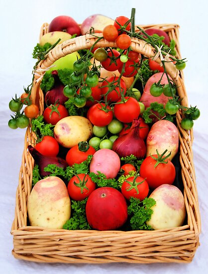 Basket of Vegetables by JEZ22