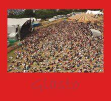 Glastonbury Festival outdoor summer pop music  Kids Tee