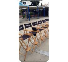 Teen Wolf Set Chairs iPhone Case/Skin