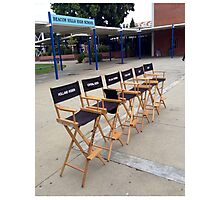 Teen Wolf Set Chairs Photographic Print