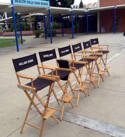 Teen Wolf Set Chairs Sticker