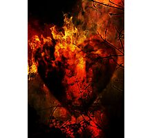 Heart of Fire Photographic Print