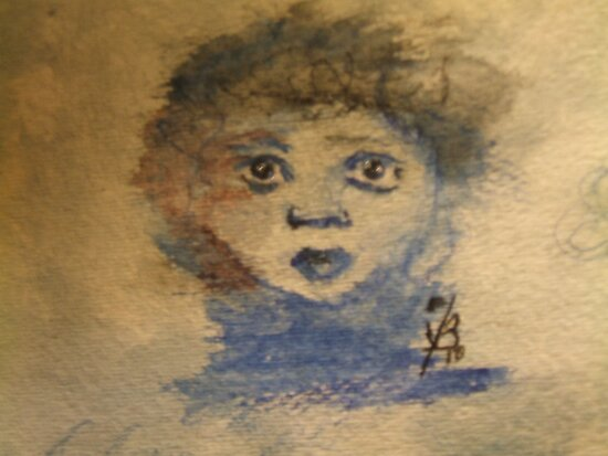 Childs Face by coppertrees