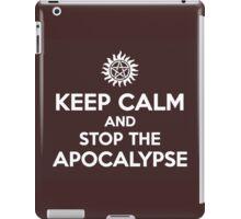 KEEP CALM: ASTA iPad Case/Skin
