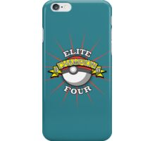 Elite Four Champion iPhone Case/Skin