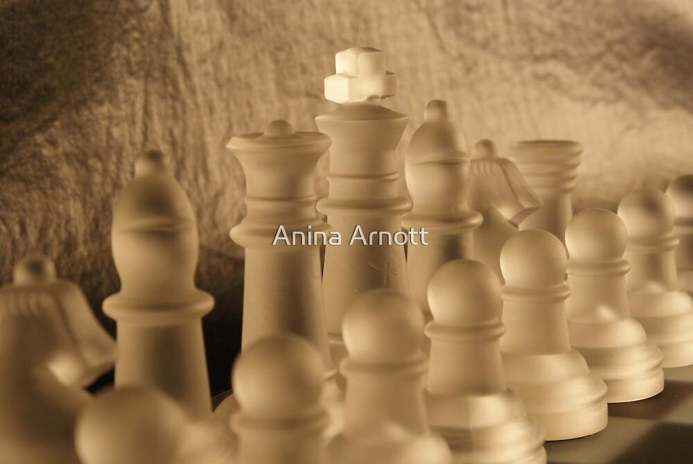 Chess Close up by Anina Arnott
