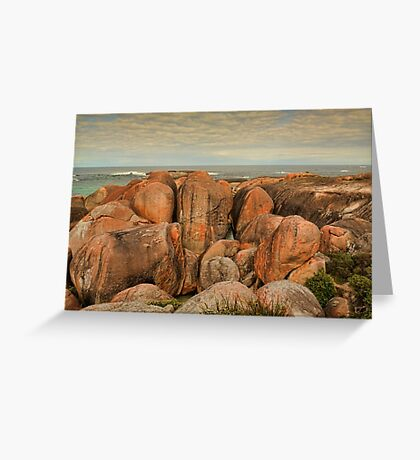 Elephant Rocks, Denmark, Western Australia Greeting Card