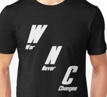 War, War Never Changes Unisex T-Shirt