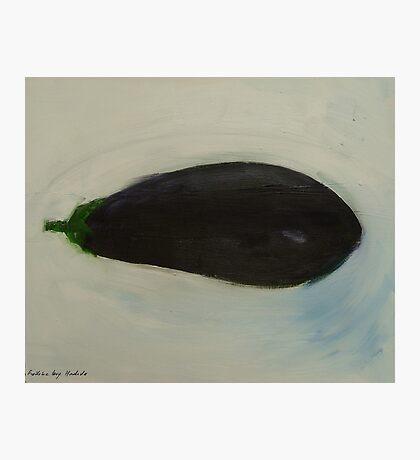 eggplant Photographic Print