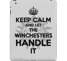 KEEP CALM: Winchesters iPad Case/Skin