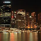 Sydney @ Night by Amit Ambardar