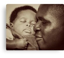 Daddy's Love Canvas Print