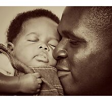 Daddy's Love Photographic Print