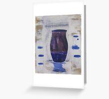 vase 1 Greeting Card