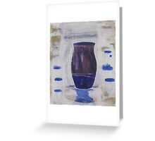 vase 1 Greeting Card