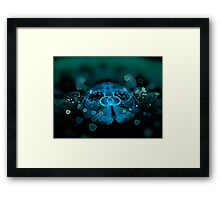 ©DA FS Hearts Fractions V1. Framed Print