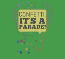 Confetti, It's a Parade! Kids Clothes