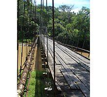 Hanging bridge Take 2 Photographic Print