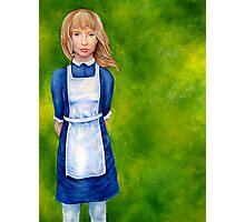 Alice in Wonderland cover Photographic Print