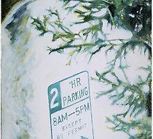Alleyway Reflection by Tim Brott