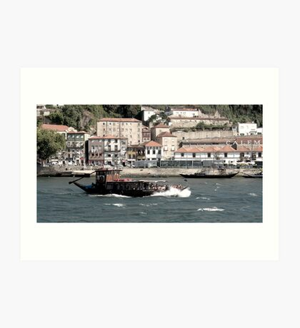 Barco Rabelo  Art Print
