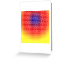 Colorful Background Greeting Card