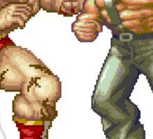 Zangief and Haggar, powerbombs and lariats Sticker