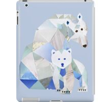 Polar Bear Momma & Pup iPad Case/Skin