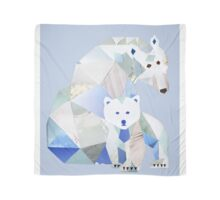 Polar Bear Momma & Pup Scarf