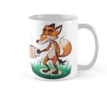 """Fox My Life"" Tired Coffee Fox Mug"