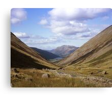 Down in the Valley. Canvas Print