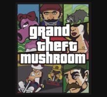 Grand Theft Mushroom Kids Clothes