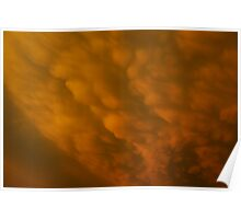 Wild cloud formation Poster