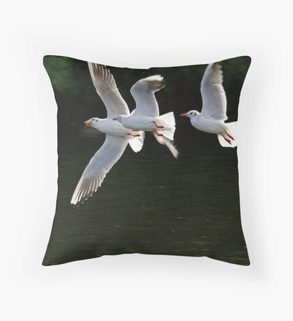 Sky Pirates Throw Pillow