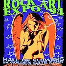 Rock Art Expo Poster by yvonne willemsen