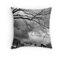 Grey levels Throw Pillow