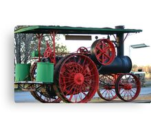 The OLD STEAM Tractor Canvas Print