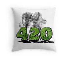 420 HAZE Throw Pillow