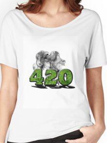 420 HAZE Women's Relaxed Fit T-Shirt