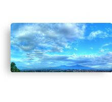 ©HCS Sky in Blue Panoramic Canvas Print