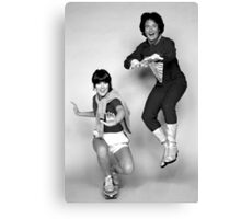 Dynamic Duo \\ Mork and Mindy Canvas Print