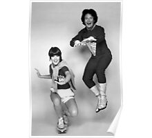 Dynamic Duo \\ Mork and Mindy Poster