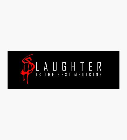Slaughter Photographic Print