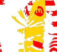 The Joker Ronald Mcdonald - Batman Sticker
